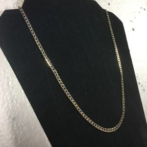 SILVER AND WHITE GOLD PLATED NECKLACE...GIFT SALE